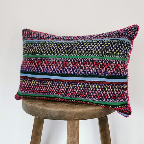 color tribe pillow