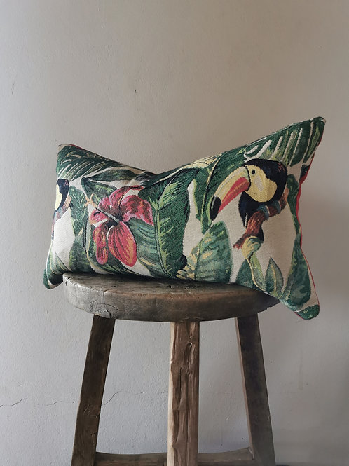 tropical flower Pillow