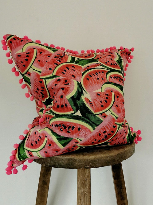 Tutti Frutti Watermelon Cushion Cover