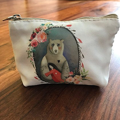 Bear Hug Flower Purse