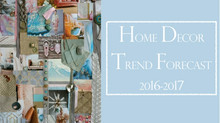 Home Décor Trend Forecast 2016/17