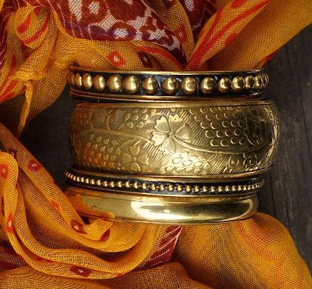 Indiara Bangle Set Gold