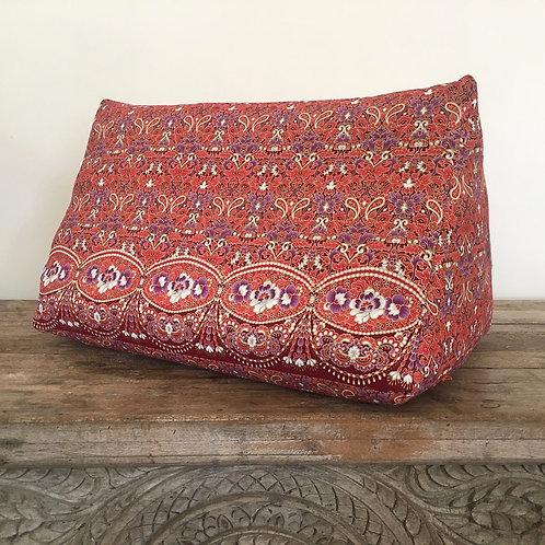 Thai-Angle Cushion Thai Triangle Pillow Japanese Cherry Blossom