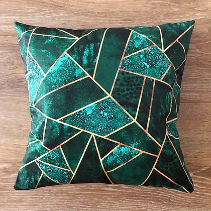 Malachite Chakras Cushion Cover
