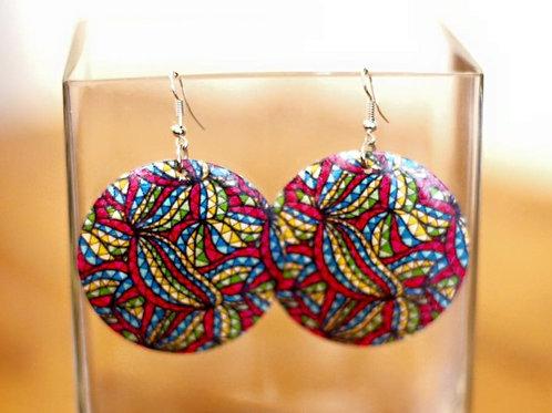 Pearly Queen Earrings- Aboriginal Art