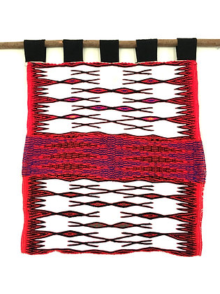 RARE Weining Style Chinese Miao Hill Tribe Textile Wall Hanging- FREE SHIPPING