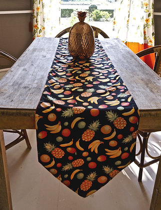 Tropical Fruit Tutti Frutti Table Runner- FREE SHIPPING