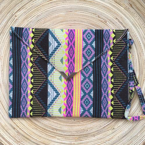 Shaku Shaku Clutch Bag- Iris