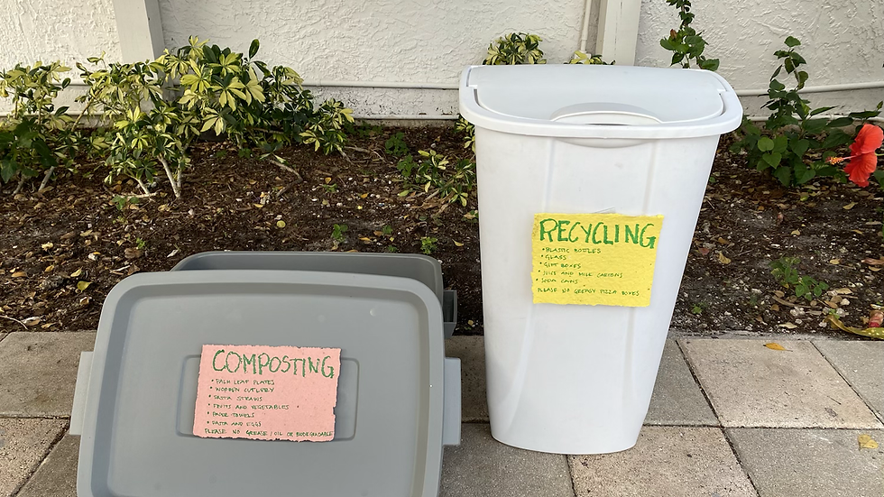 Event Waste Management (incl. consultation, trash cans and signs & cleaning)