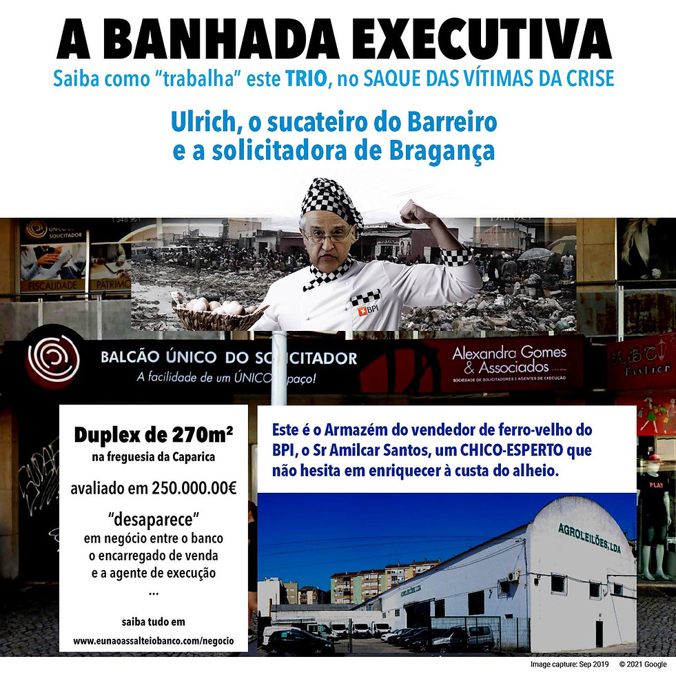 A BANHADA EXECUTIVA