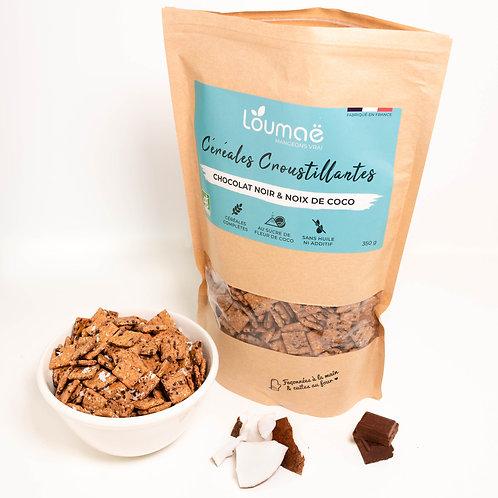 Céréales Chocolat noir & noix de coco - Loumaë