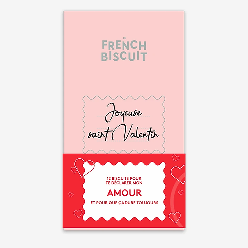 Biscuits artisanaux Amour - Le French Biscuit
