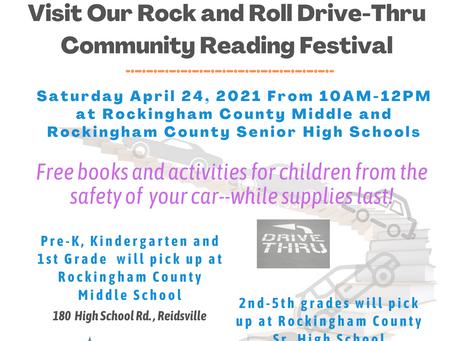 Catch the Reading Bug Drive-thru Event