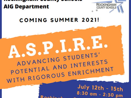 2021 ASPIRE program
