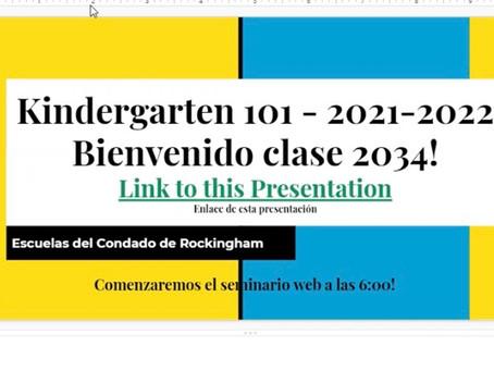 Kindergarten 101 - Spanish Version