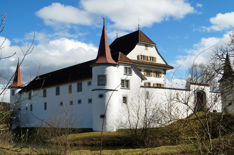 Zamek Wyher, Szwajcaria
