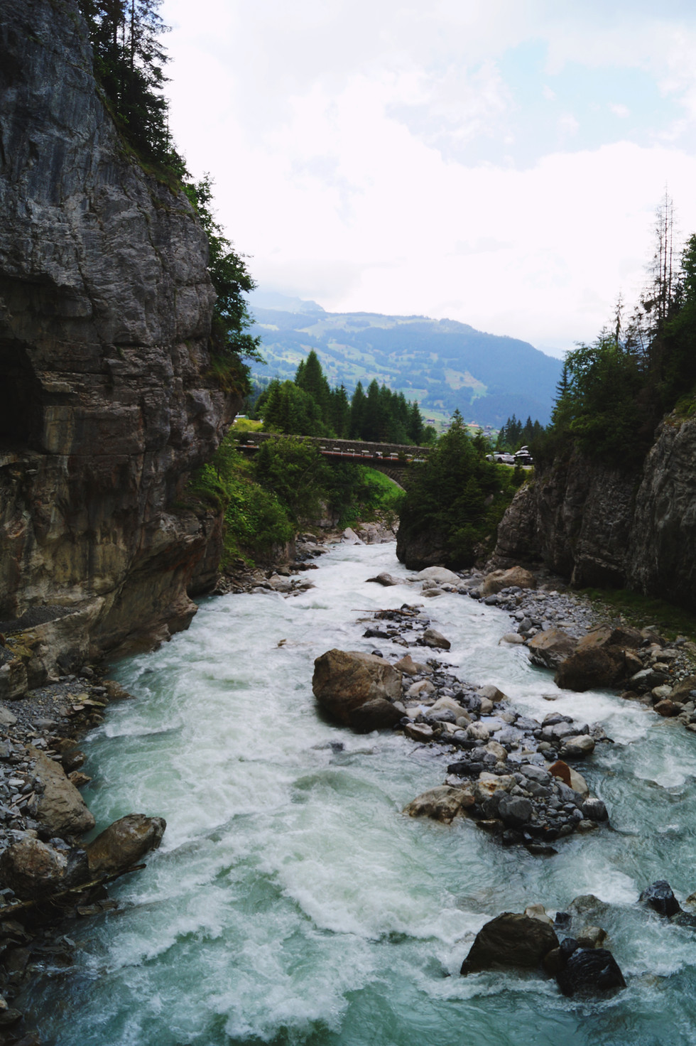 Gletscherschlucht, Grindelwald