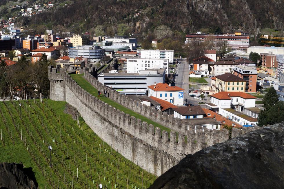 Bellinzona - miasto zamków