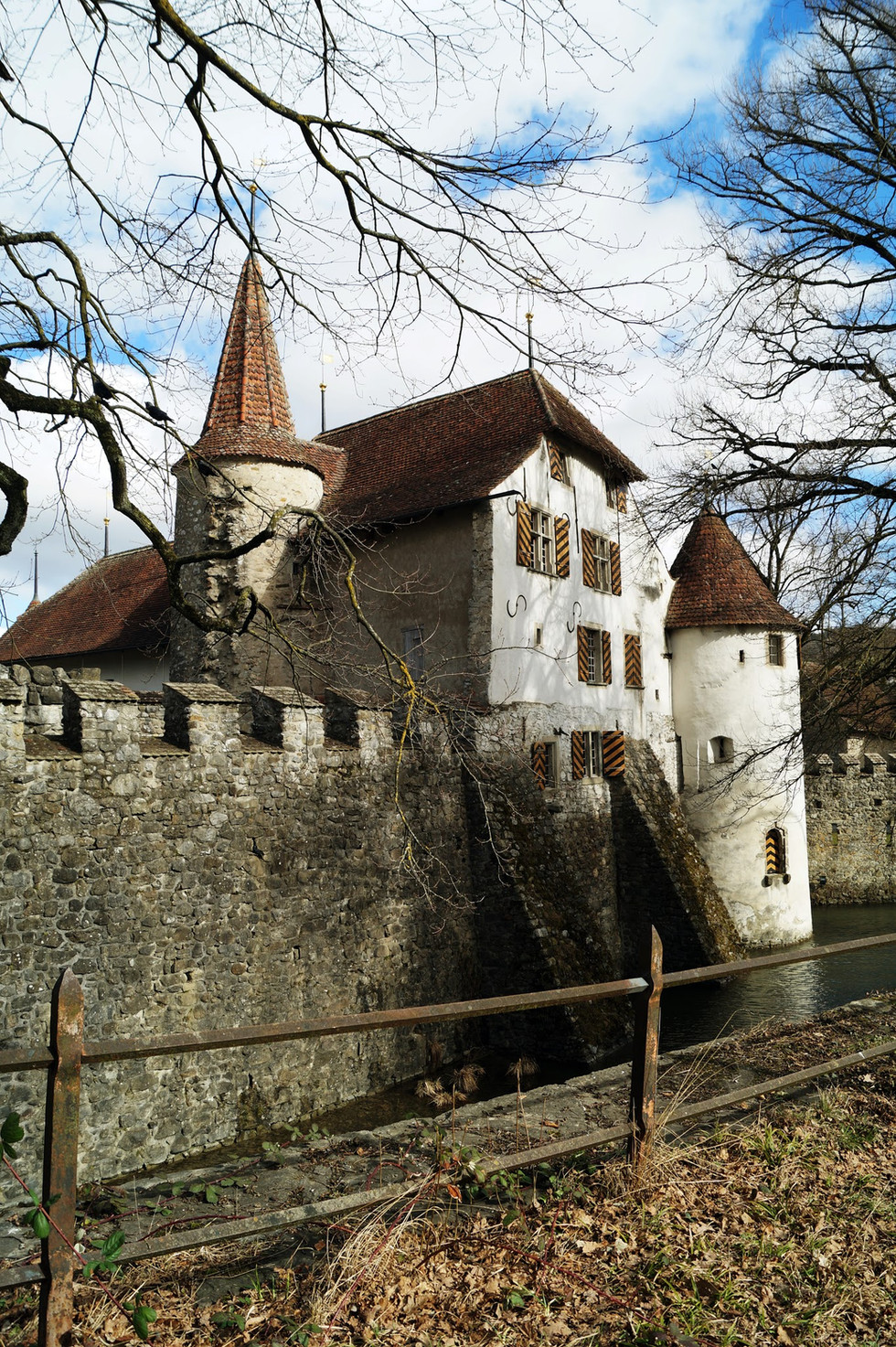 Zamek Hallwyl, Szwajcaria