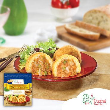 Arancini Siciliana Meat and Peas