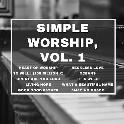 Simple Worship Vol. 1 (10 song collection)