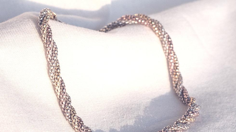 Silver/Gold Rope Bracelet