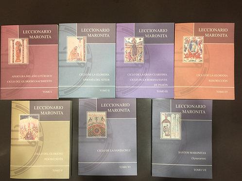 LECCIONARIO MARONITA (7 tomos)