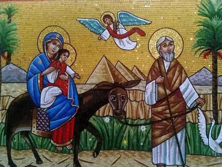 Conmemoración de la entrada de la Sagrada Familia en Egipto