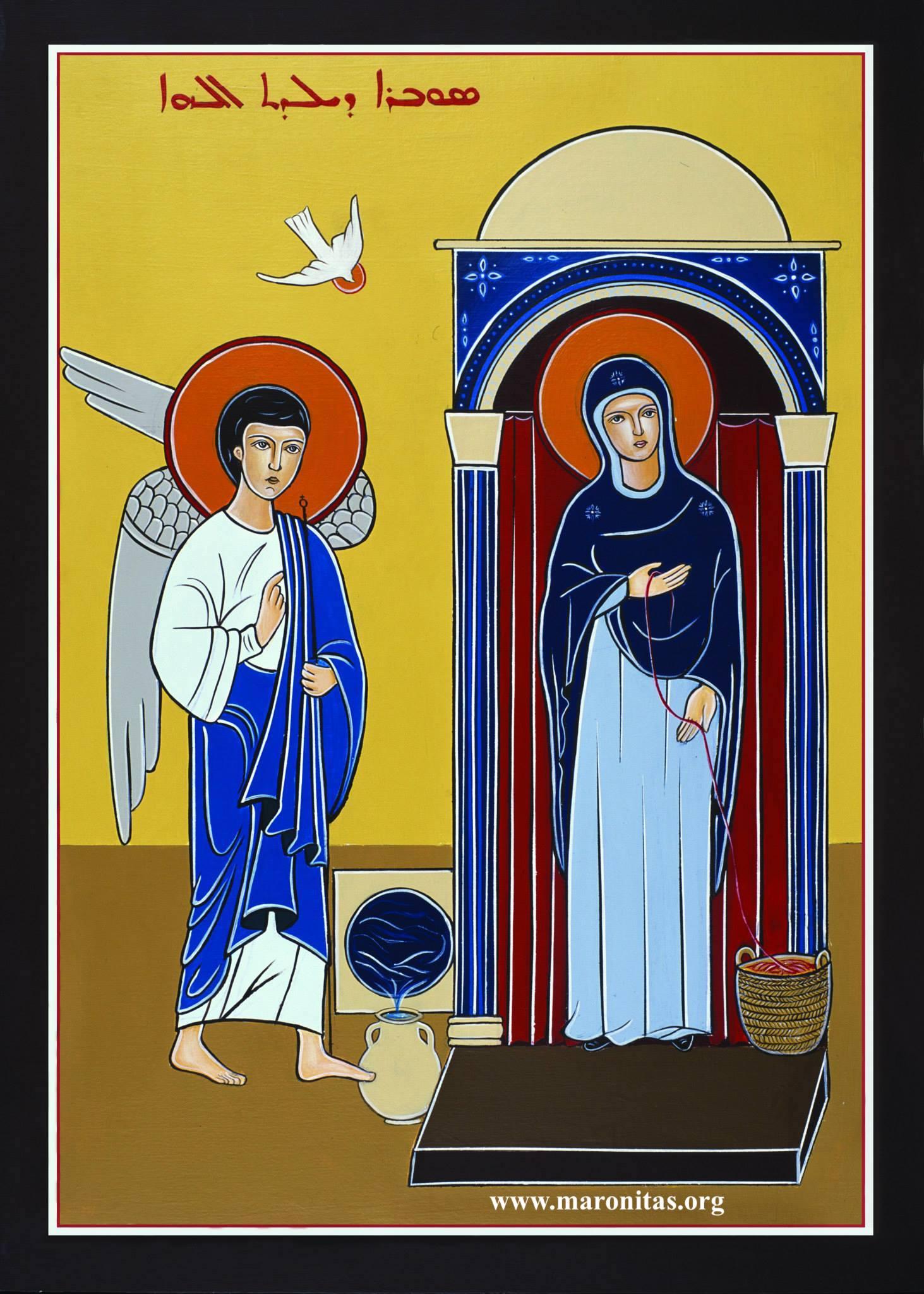 3. La Anunciación a María