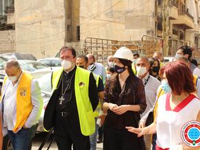 Una visita perspicaz de la embajadora de Australia la Sra. Rebecca Grindlay,