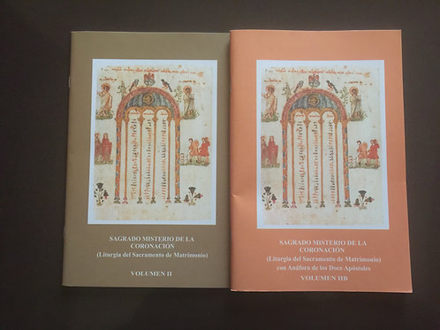RITUAL DEL MATRIMONIO Liturgia del Sagrado Misterio de la Coronación