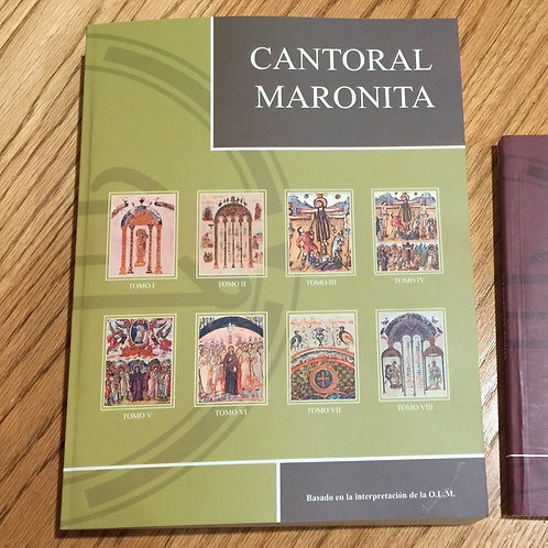 CANTORAL MARONITA en Español (Partituras), basado en la interpretación la O.L.M.