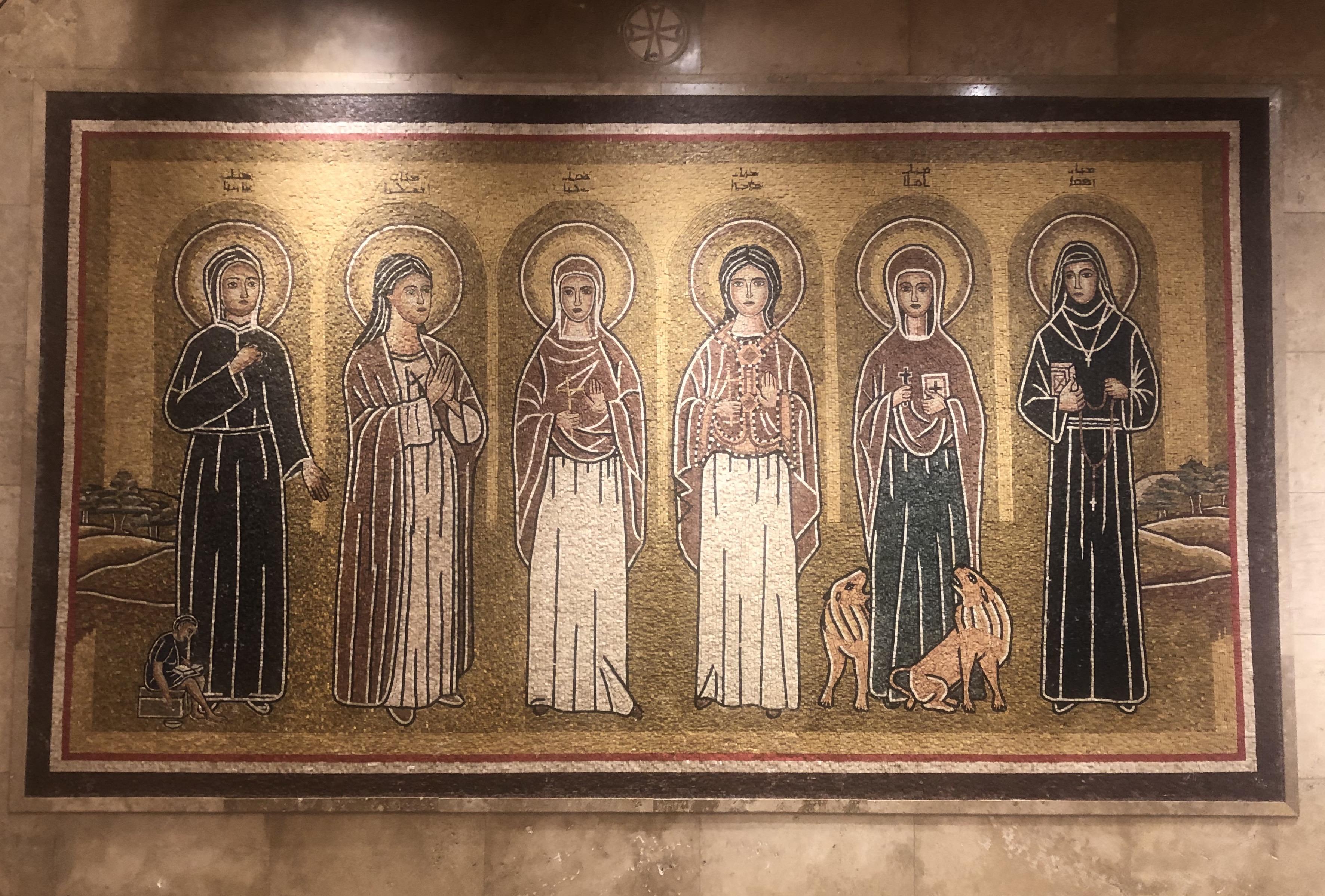 Santas Maronitas