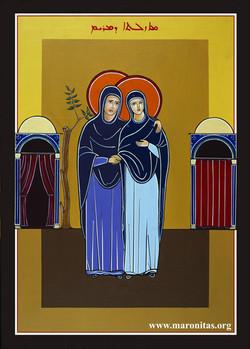 4. La Visitación de María a santa Isabel