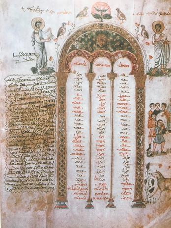maronitas, siríaco, maronites, syriac, Rabboula, Gospels