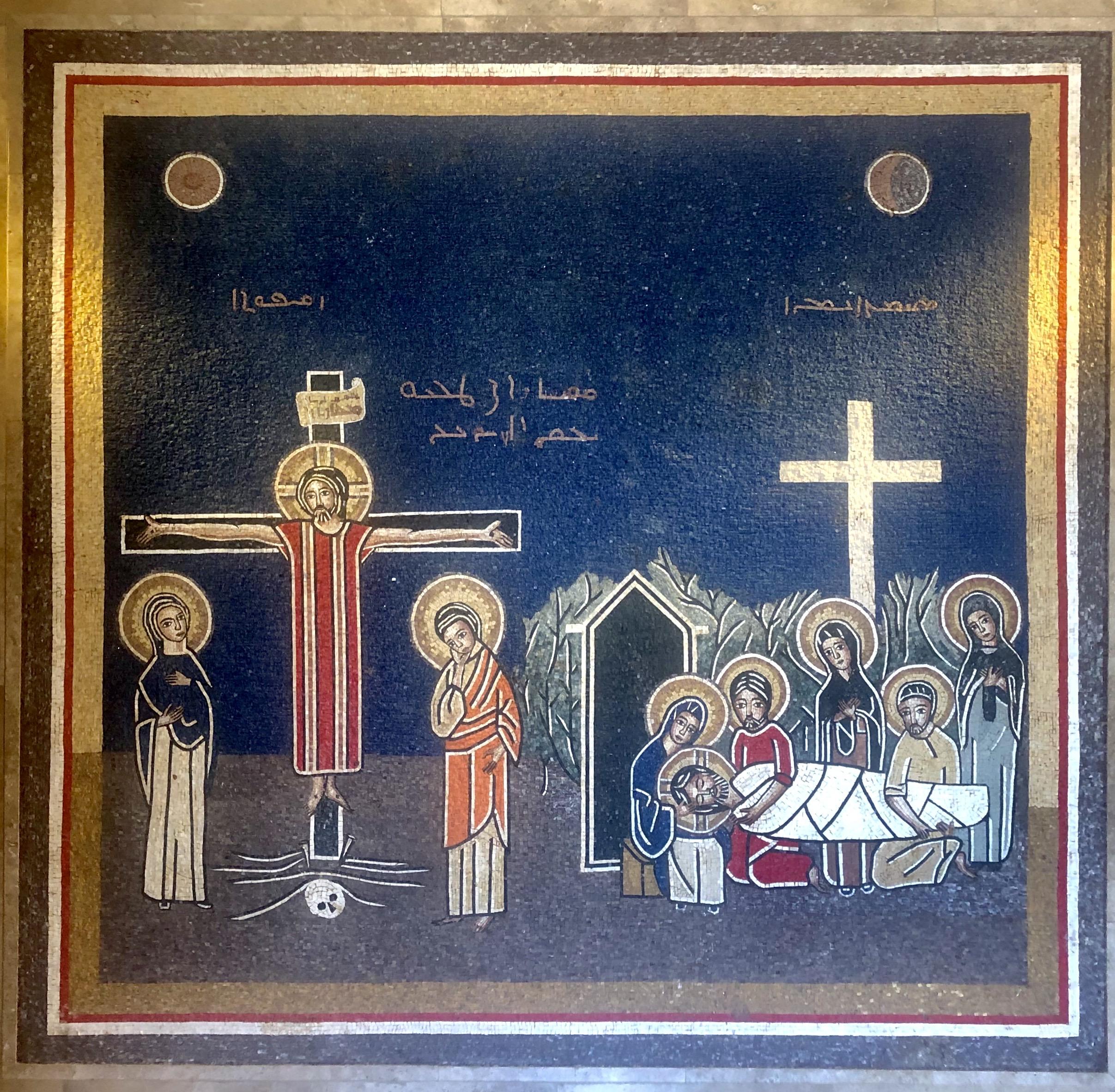 La Crucifixión y la Sepultura del Señor