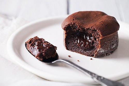 Dessert: Fondant au chocolat