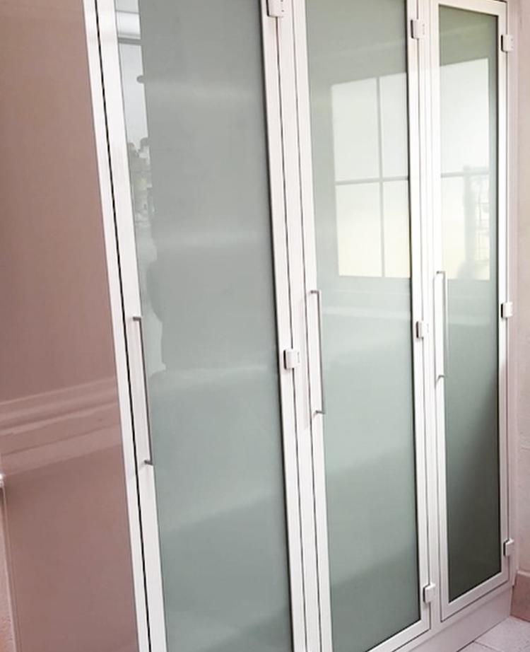 Armari d'alumini 3 portes