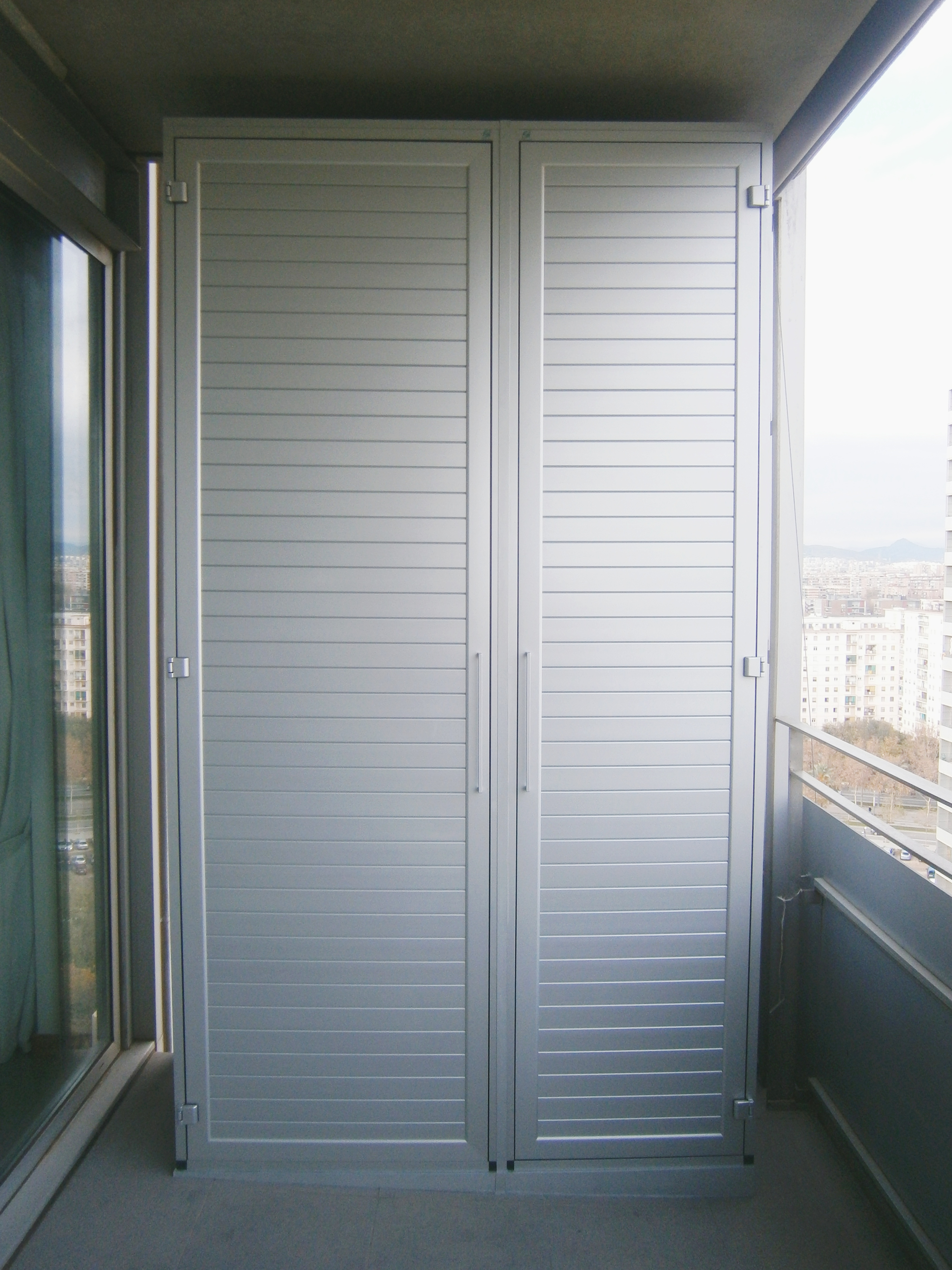 Armari d'alumini exterior a mida