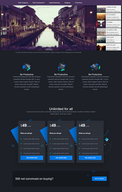 Responsive Bootstrap template