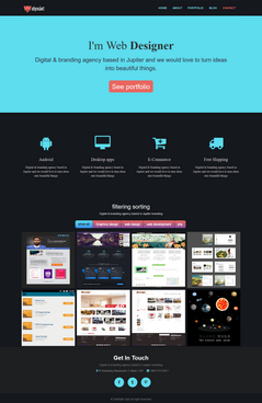 Responsive Psd To Bootstrap Template