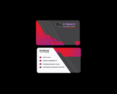 Business Card illustrator cs6