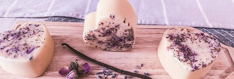 Massage/lotion bar - Lavender/Vanilla