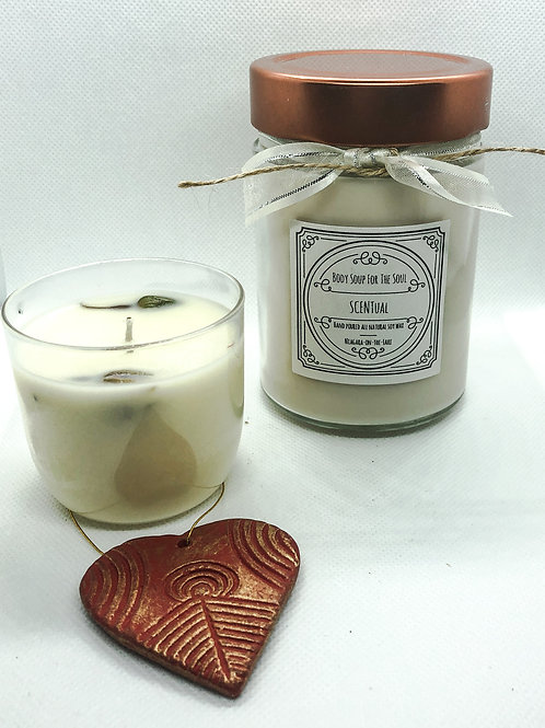 All natural soy wax candle