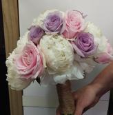 Wedding Bouquet, Briar Rose Flowers, Warkworth.