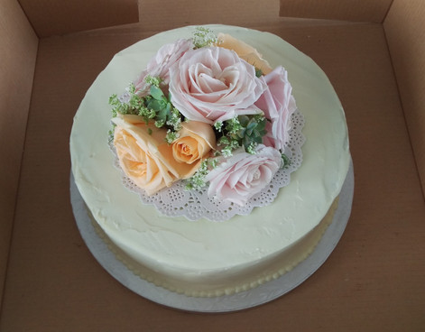 Wedding Cake Flowers, Briar Rose Flowers, Warkworth.