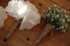 Rustic Buttonholes, Briar Rose Flowers, Warkworth.