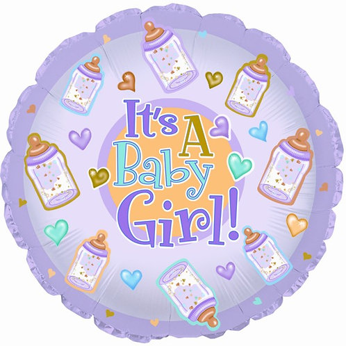 Balloon (Helium) - Baby Girl