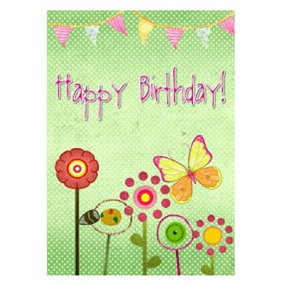 Card - Happy Birthday (Full Sized)