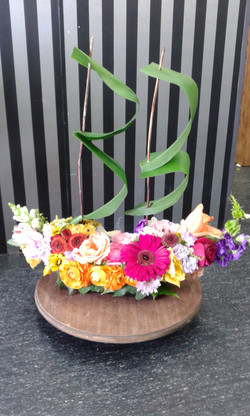 Pirate Ship Flowers